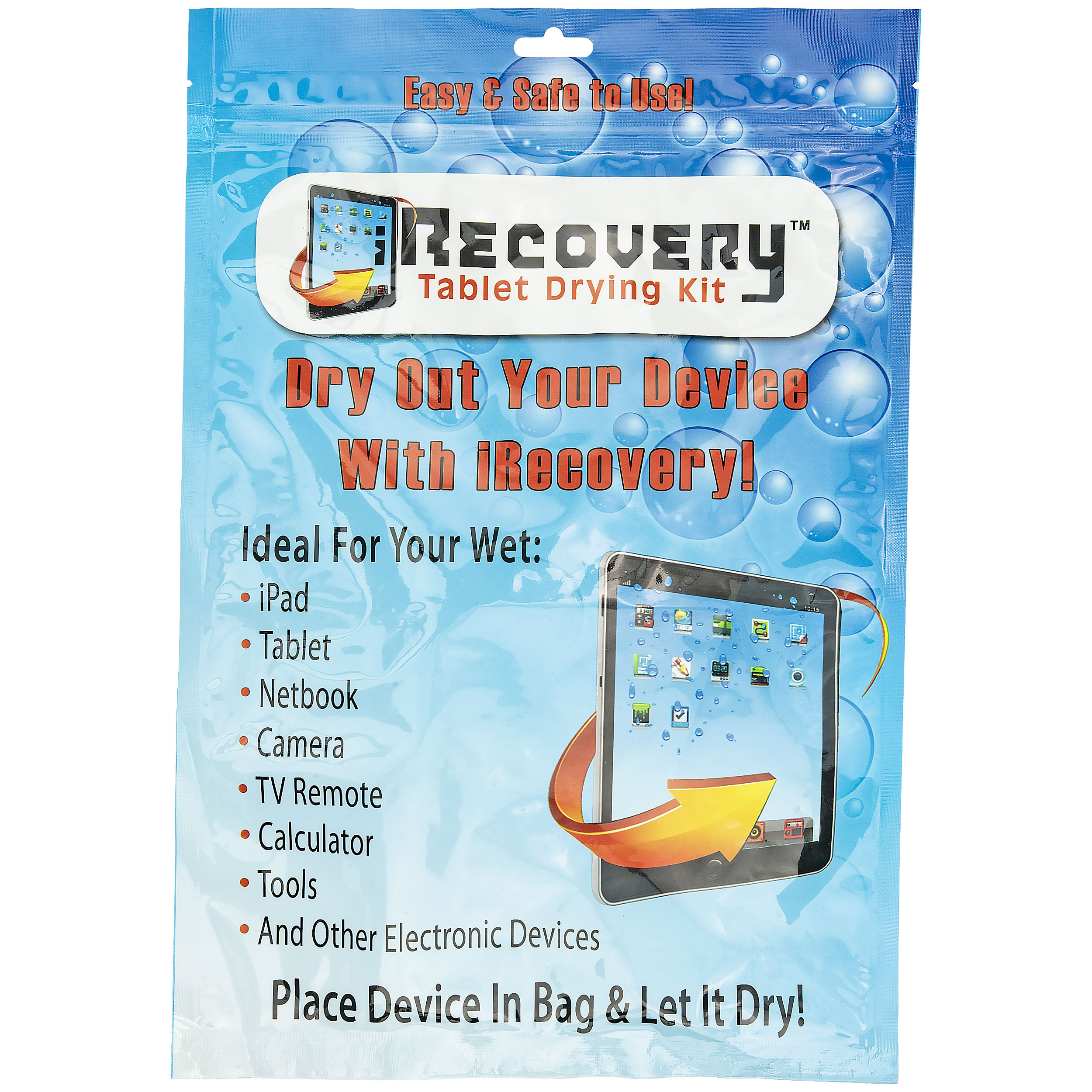 iRecovery Tablet Drying Kit